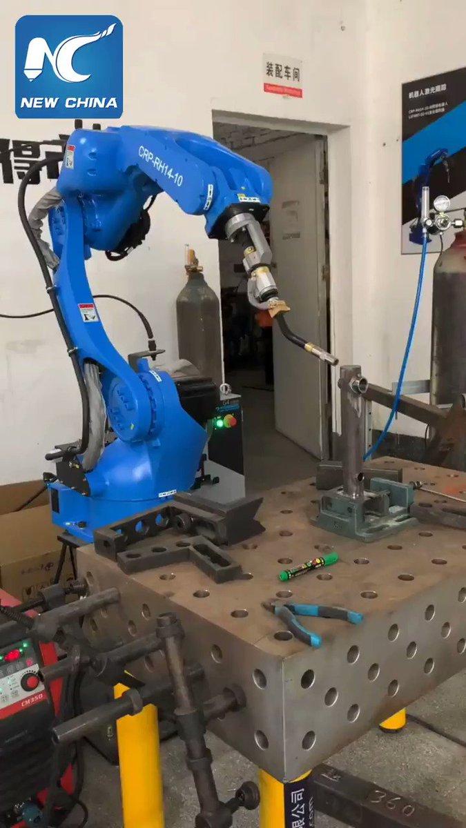 Stunning welding skills