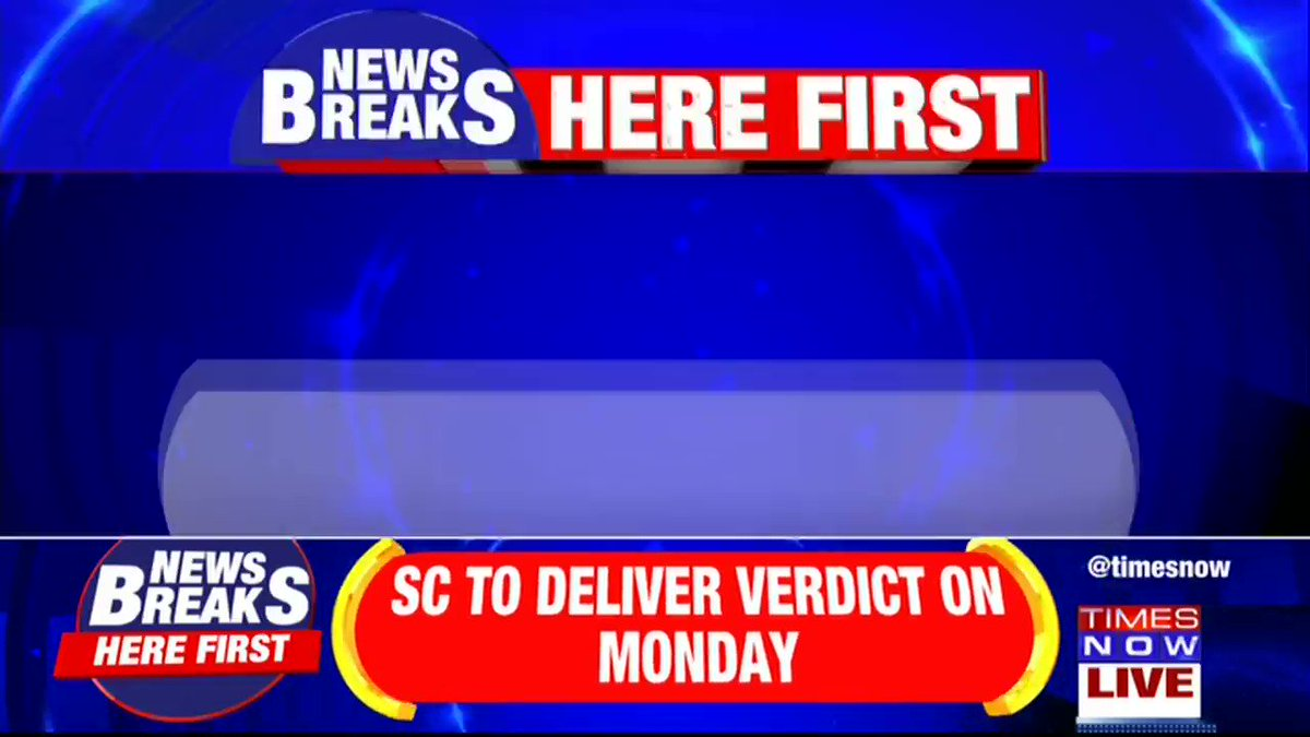 #Breaking | Key Article 370 hearing on Monday, Supreme Court to decide on pleas challenging Article 370.More details by TIMES NOW's Harish Nair.