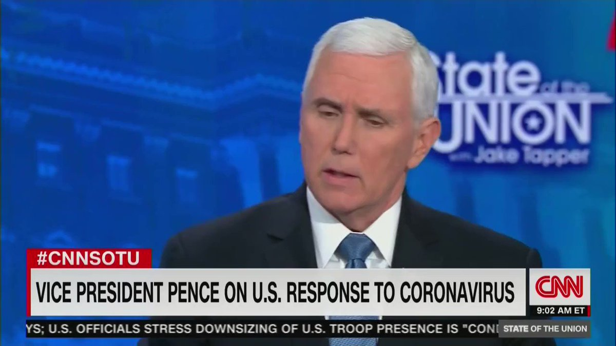 "Per non dimenticare.   @Mike_Pence ""The risk for the average American to #coronavirus remains low."" #COVID"