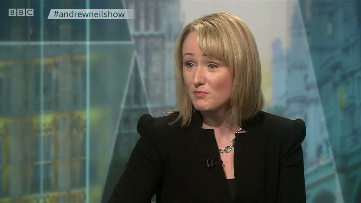 """Rebecca Long-Bailey on her work as a solicitor: """"You couldn't not work on PFI"""" as it was """"the only game in town"""" @afneil asks how was she defending the NHS, as she claimed, while working on private finance initiative (PFI) deals #AndrewNeilShow bbc.in/32QOtJB"""