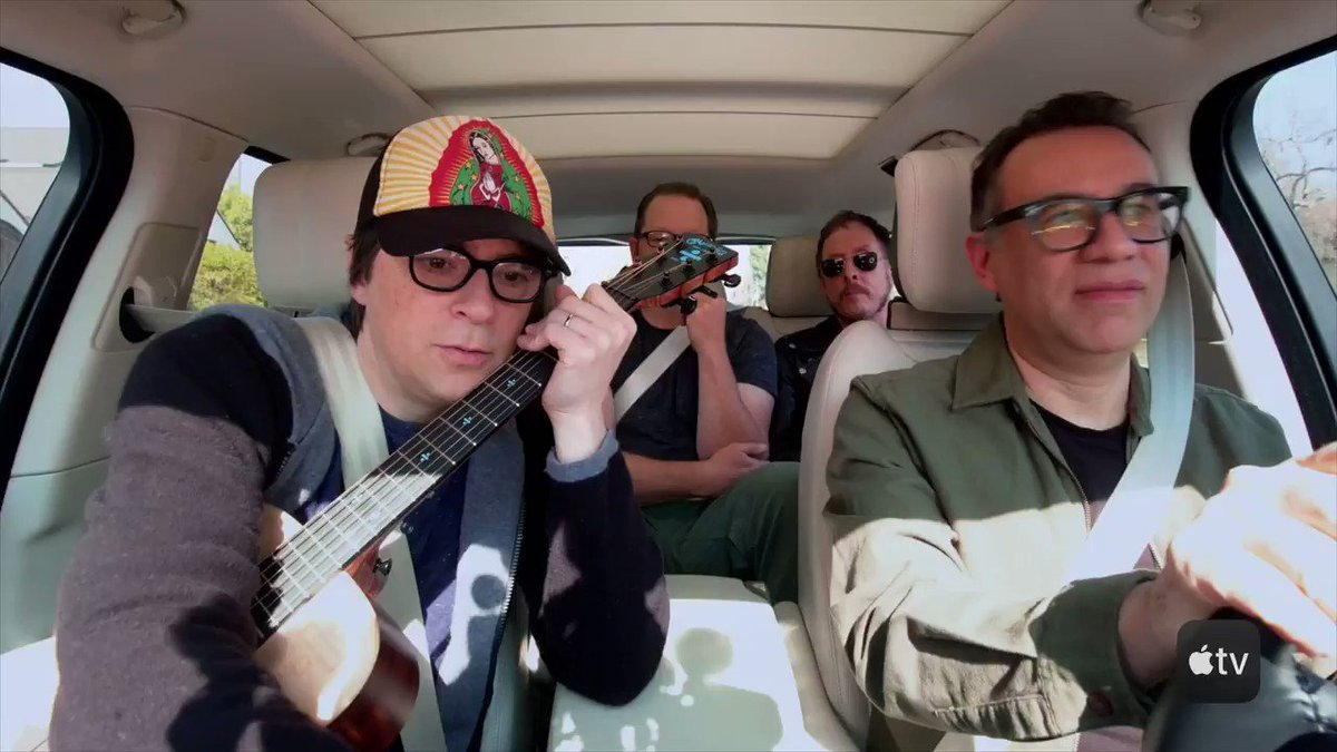 Fasten up, hitting the road now with Fred Armisen on @CarpoolKaraoke on the @AppleTV app
