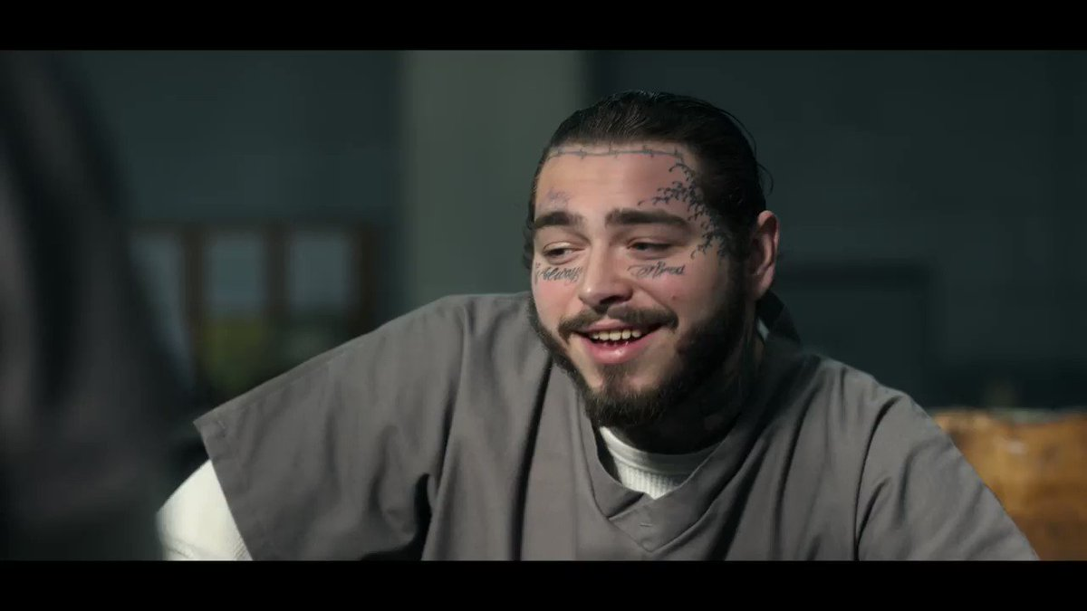 Watch @PostMalone try to beat me up in Spenser Confidential on @Netflix. 👊