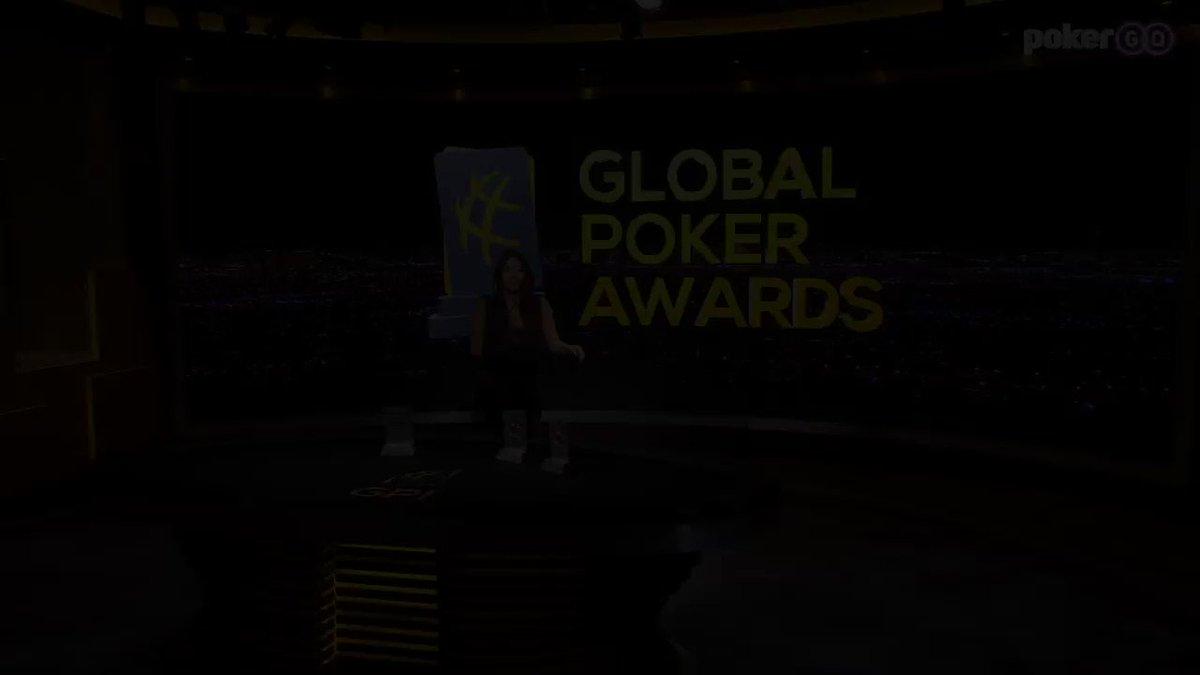 🌐♣️🏆 Jamie @JamieKerstetter Kerstetter wins Twitter Personality of the Year #GlobalPokerAwards