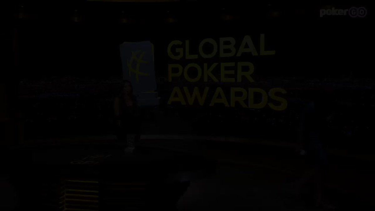 🌐♣️🏆 The Poker ICON Award goes to Johnny Chan @ItsJohnnyChan #GlobalPokerAwards