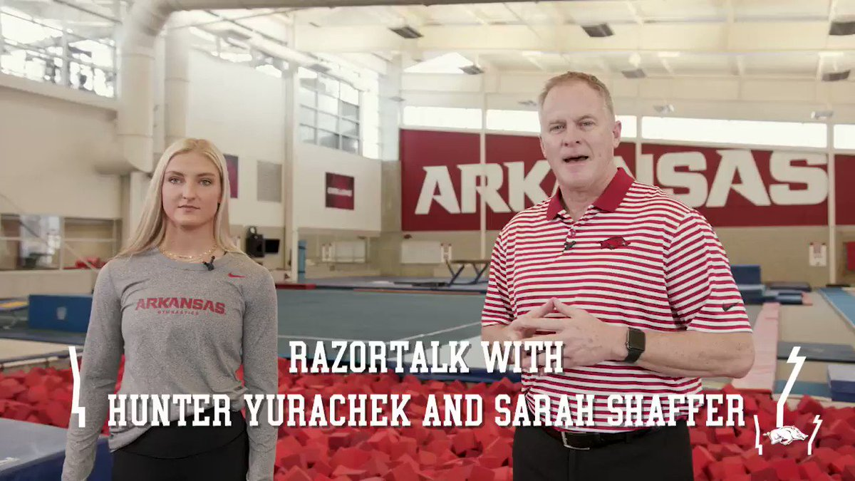 RazorTalk is back as we chat with Sarah Shaffer from @RazorbackGym!