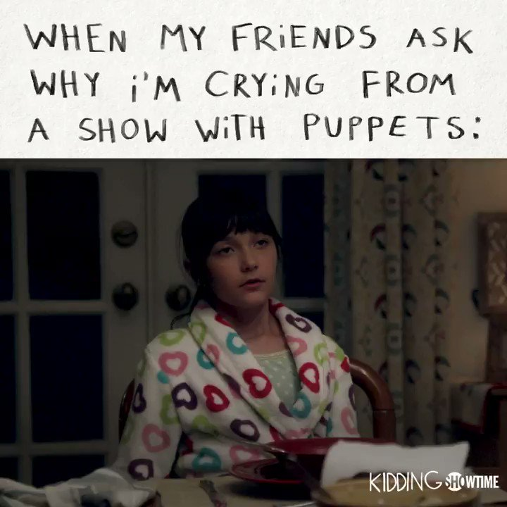 the puppets are symbolic, ok?? 😭