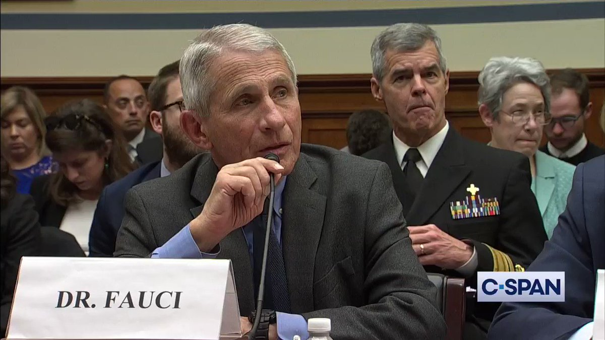 Dr. Anthony Fauci on coronavirus: 'It is ten times more lethal than the seasonal flu.' (via @cspan)
