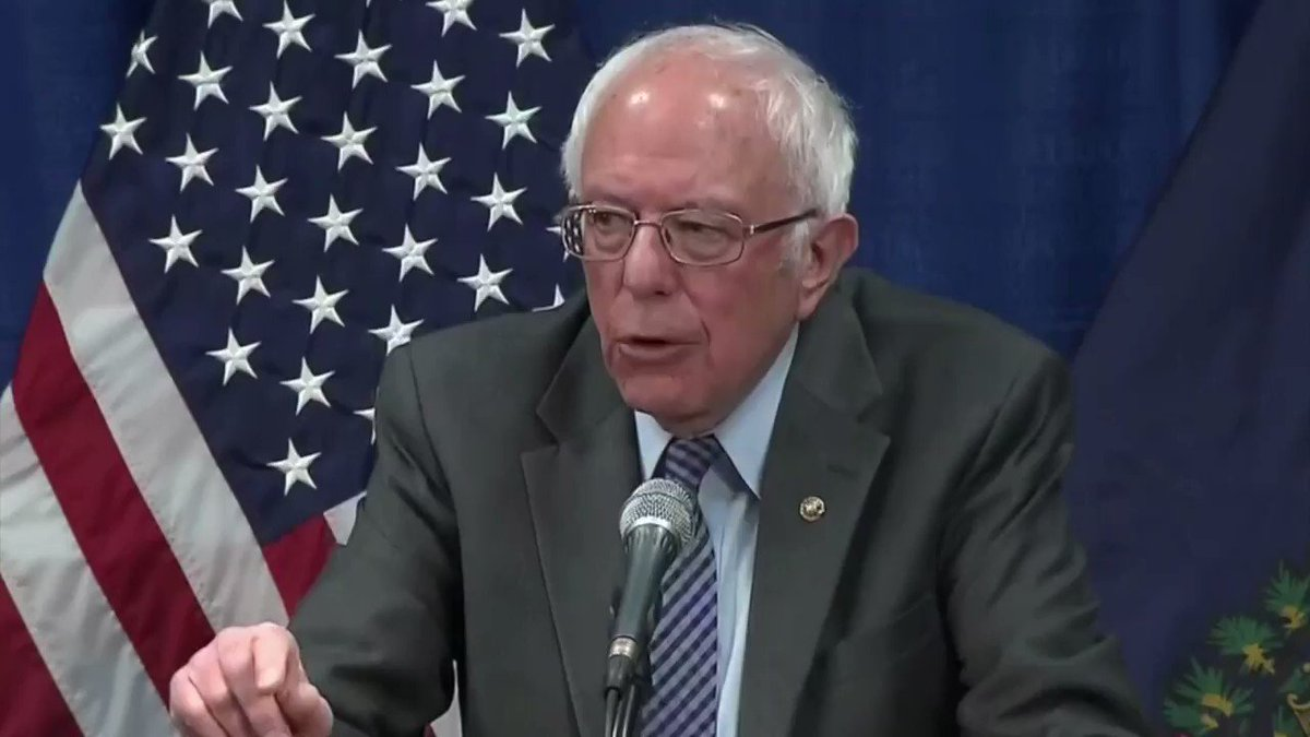 Sen. Bernie Sanders: 'We are only as safe as the least insured person in America.'