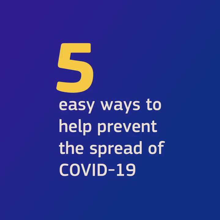 Image for the Tweet beginning: Help reduce #COVID19 spreading by