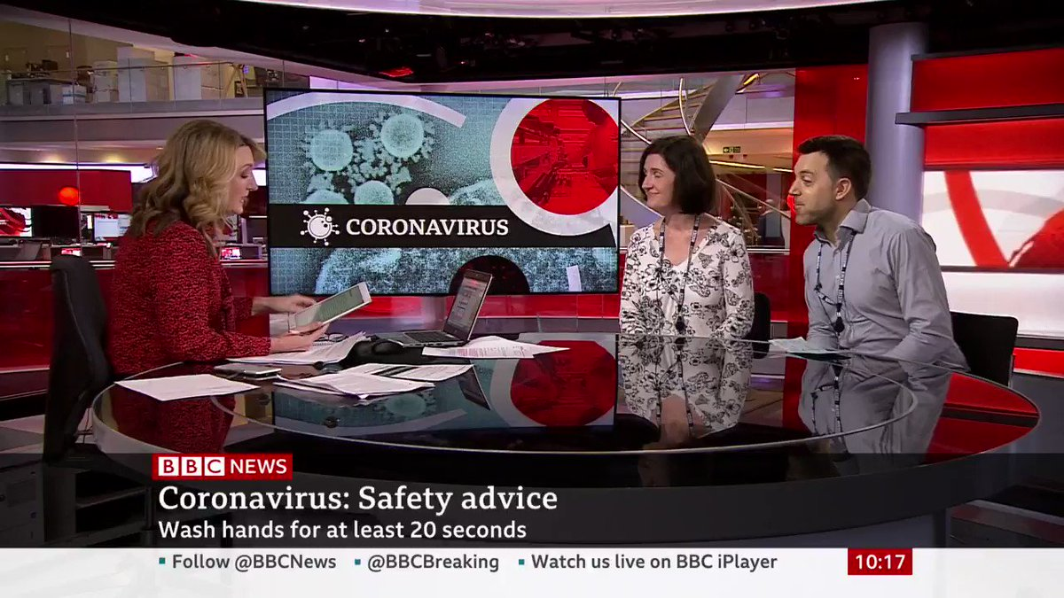"""""""I own a large retail shop. Two staff have self-isolated with symptoms, who had been at work. Should we now isolate all staff for 14 days?"""" Public health consultant Dr Rebecca Cooper answers a viewer question bbc.in/3d8PCRu"""