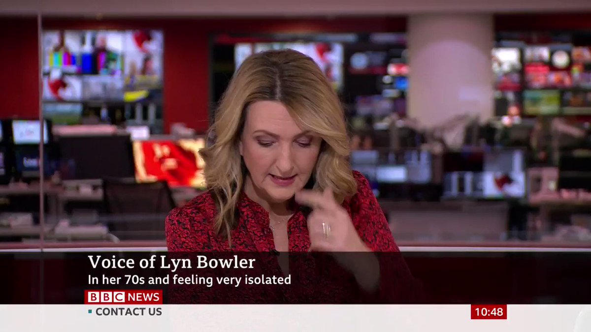 """""""My biggest issue is getting my prescriptions for pre-existing conditions"""" Lyn Bowler is in her 70s and has no UK family. She says she has been unsuccessfully """"fighting"""" for her prescriptions, for which she has to leave the house, despite being at-risk bbc.in/3d8PCRu"""