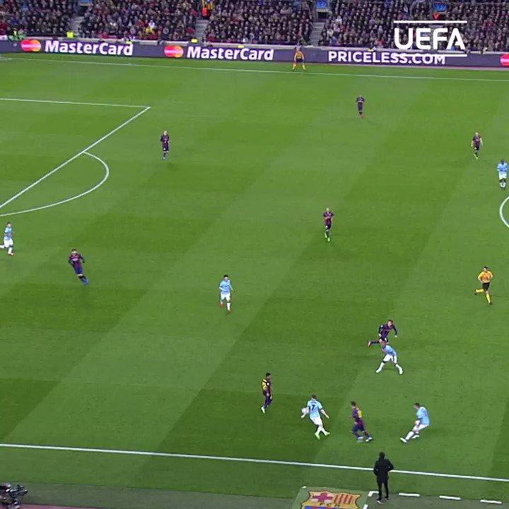 🔵🔴 Messi #OTD in 2015 🔥  #UCL | @FCBarcelona