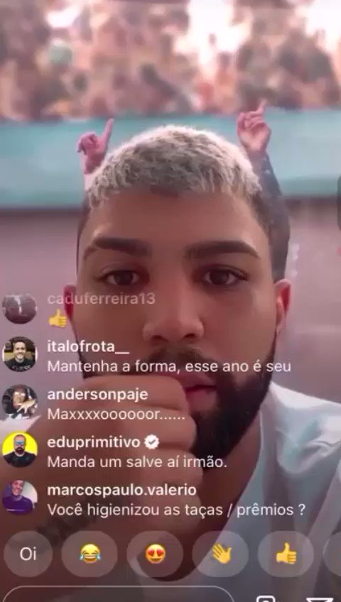 @FLANAACAO's photo on Gabigol