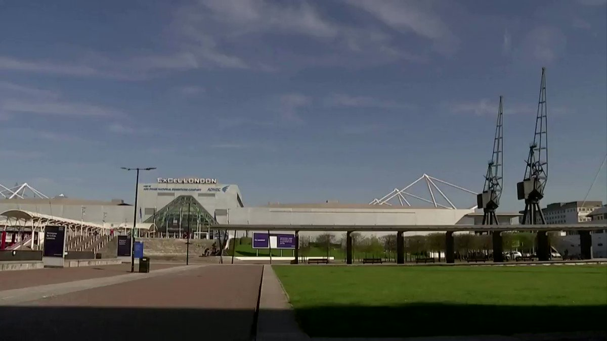 Britain is turning London's ExCel exhibition center into a temporary hospital https://reut.rs/2WIcz8m