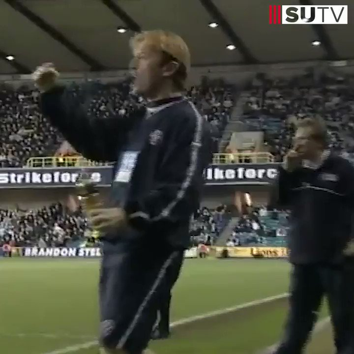 What. A. Hit. 👏  Derek Geary's winner at The Den in 2004 is today's 'Goal of the Day'. 🔥