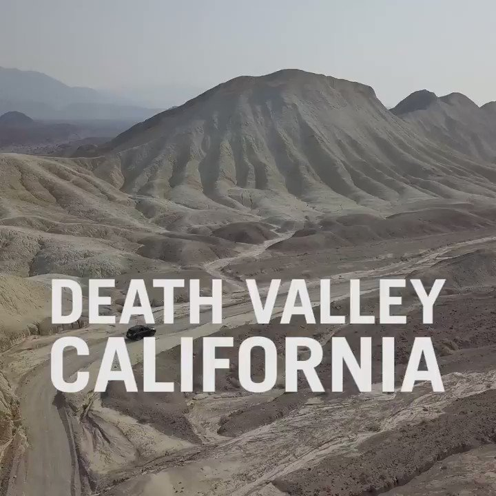 Image for the Tweet beginning: Death Valley is more alive