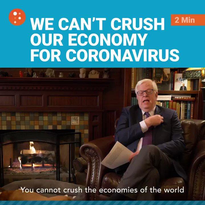 Image for the Tweet beginning: The shutdowns over the #coronavirus