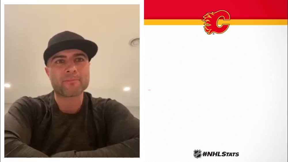 Mark Giordano of the @NHLFlames thinks the playoffs will be 🔥. Full Video Conference: nhl.com/video/pacific-…
