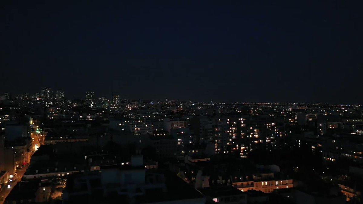 Image for the Tweet beginning: 20h, Paris 11 : MERCI