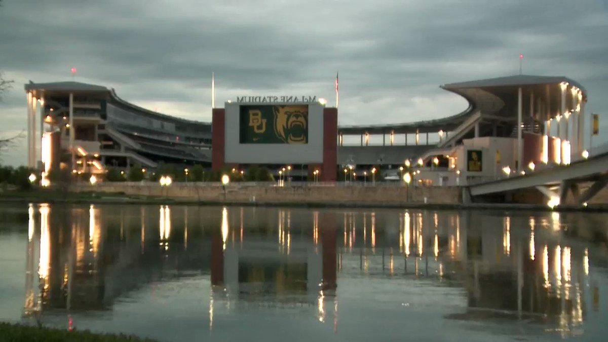 LIGHTS OF HOPE TIMELAPSE: Sunday night at McLane Stadium