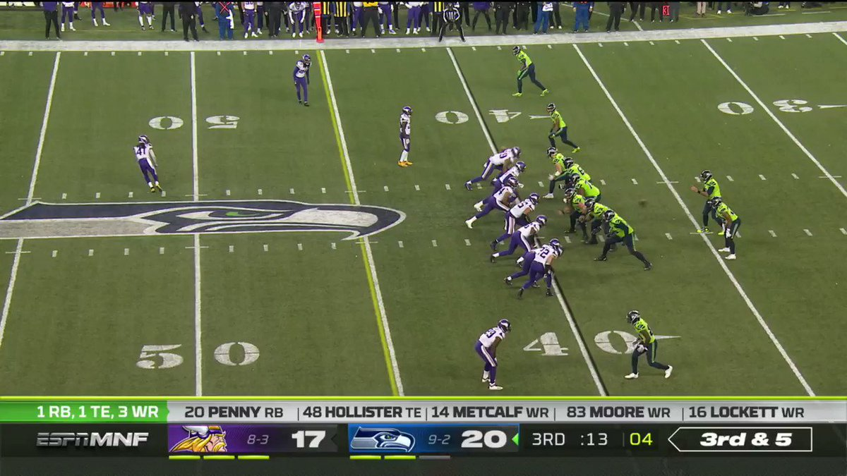 .@DangeRussWilson to @DmoeSwagg23! 💥  And the possibly the celebration of the year?  📺: #MINvsSEA re-airing NOW on NFL Network https://t.co/ncY7rgl7aO
