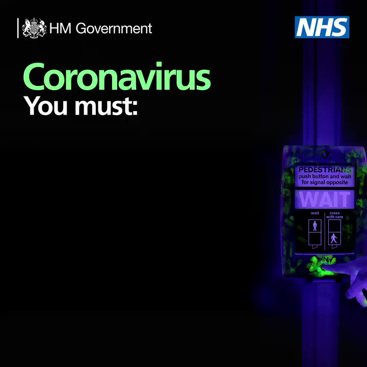 Coronavirus (Covid-19) Stay at Home Protect the NHS Save Lives For more information, see nhs.uk/conditions/cor…