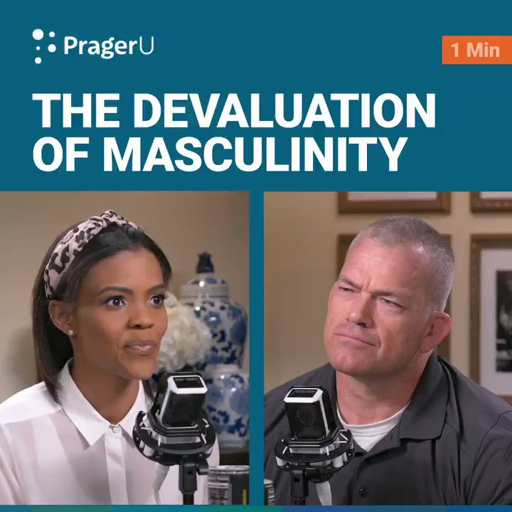 Image for the Tweet beginning: Devaluing masculinity is detrimental to