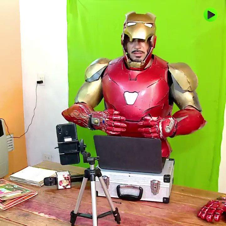 #Argentinian  Tony Stark helps you fight #COVID19