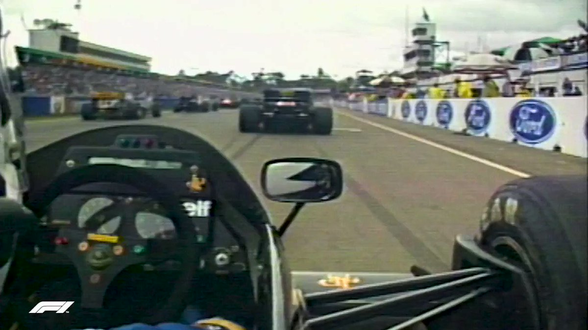 In 1986, onboard cameras were the new cool thing in F1 🎥  This amazing clip with Johnny Dumfries from Adelaide in 1986 got us off to a good start, right? 😉  #F1