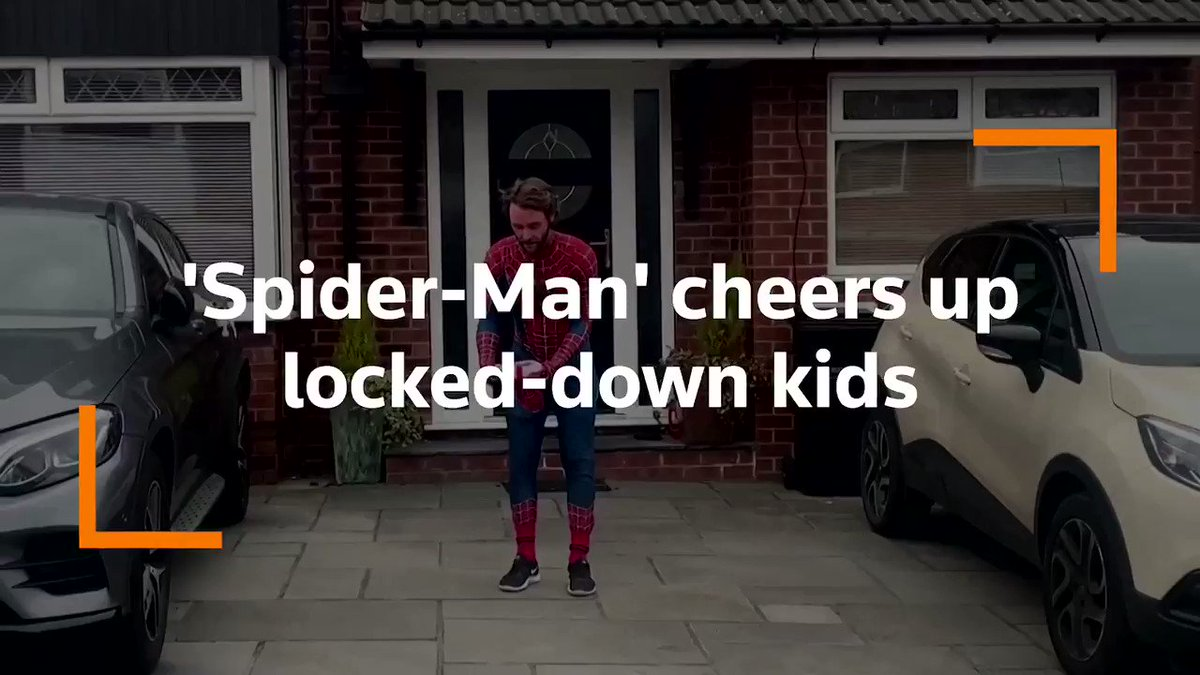 Image for the Tweet beginning: Manchester's 'Spider-Man' is using his