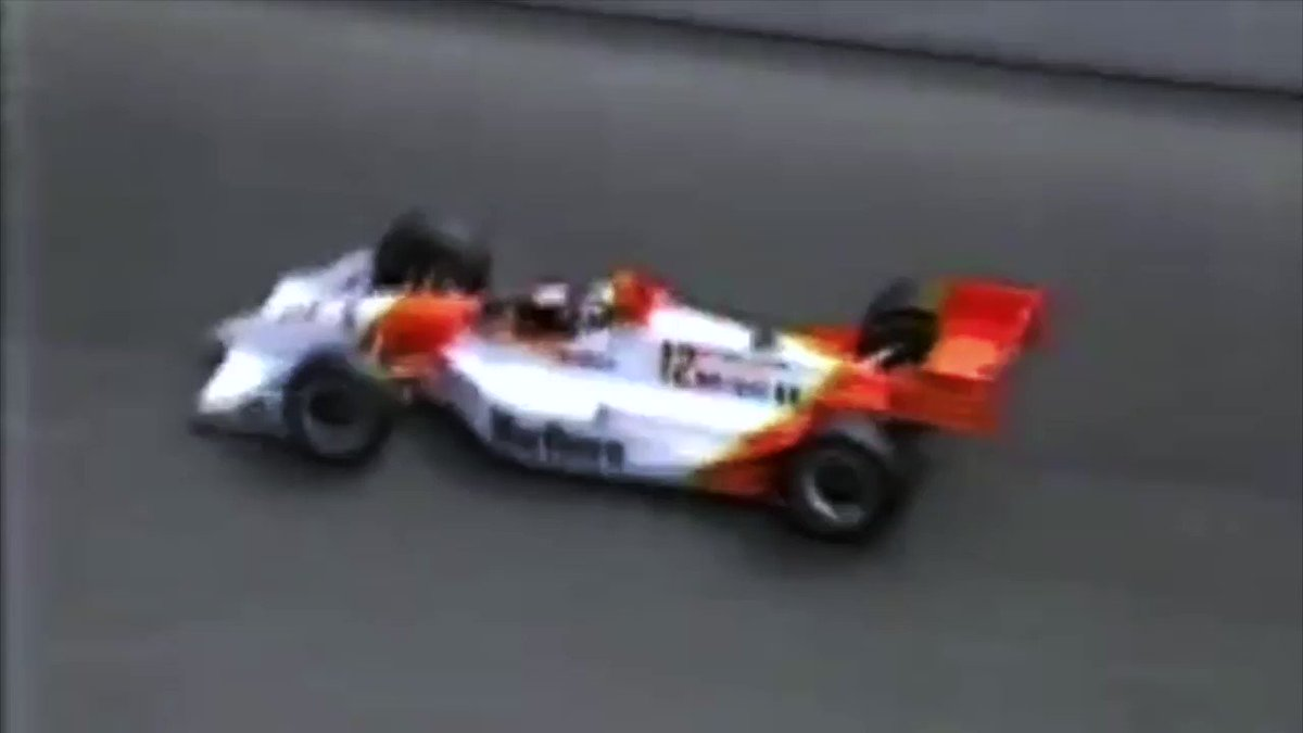 Toronto 1993 - Final lap here for @team_penske driver @paultracy3 who would become the first Canadian to win an #indycar race on his home soil!
