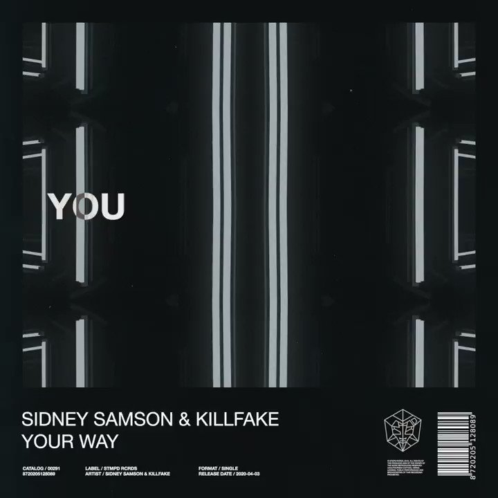 .@Sidneysamson & @Killfakemusic - YOUR WAY - Out now 💥 stmpd.co/gqm8ETW