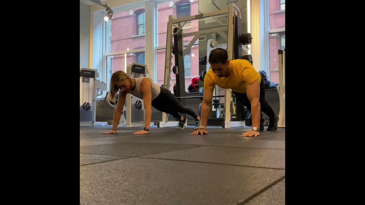 Image for the Tweet beginning: Try these push ups during