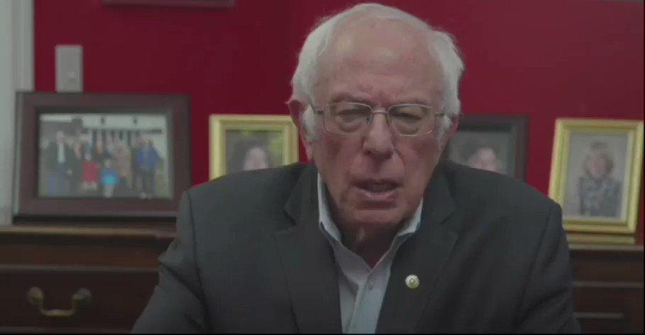 "Image for the Tweet beginning: Sen. Bernie Sanders: ""The way"