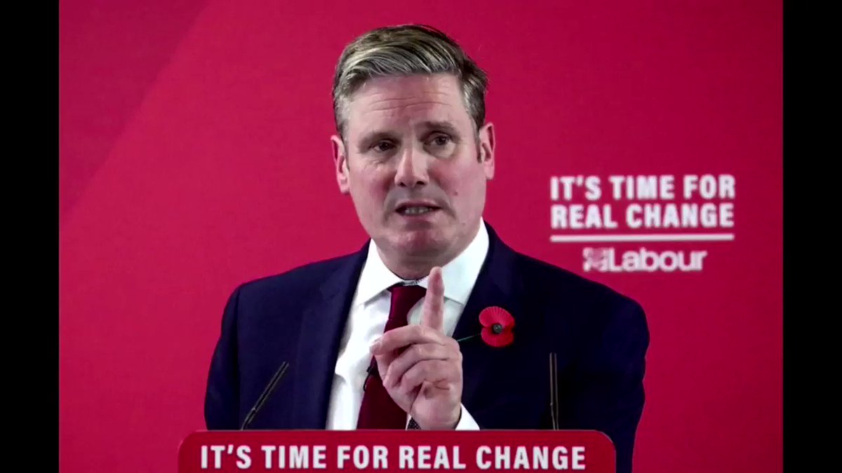 Image for the Tweet beginning: Keir Starmer was elected as