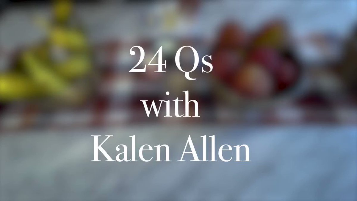 Here are 24 things I want you to know about @TheKalenAllen .