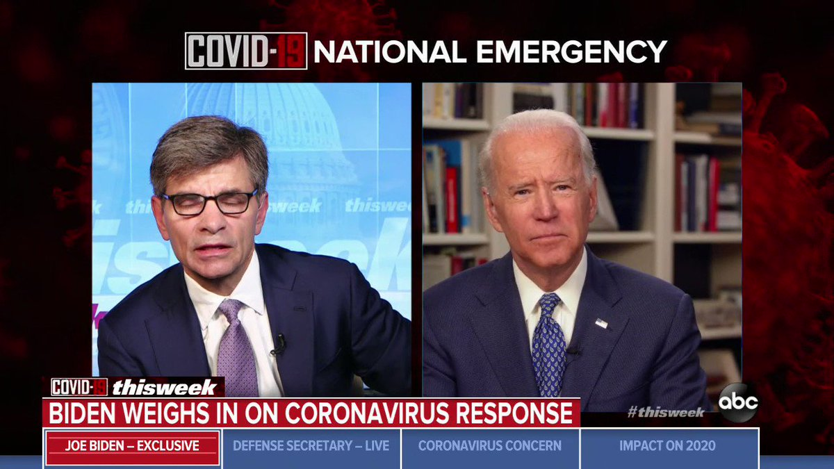 Biden says it was 'close to criminal' for Navy to oust captain who warned of coronavirus outbreak on aircraft carrier