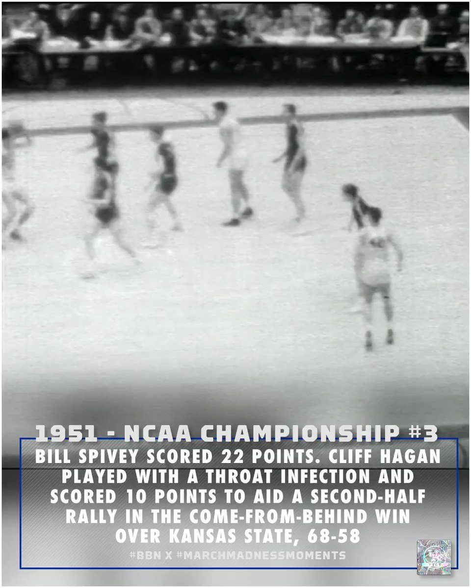 1951 🏆#3 #BBN x #marchmadnessmoments | #TGT: 𝗧he 𝗚reatest 𝗧radition.