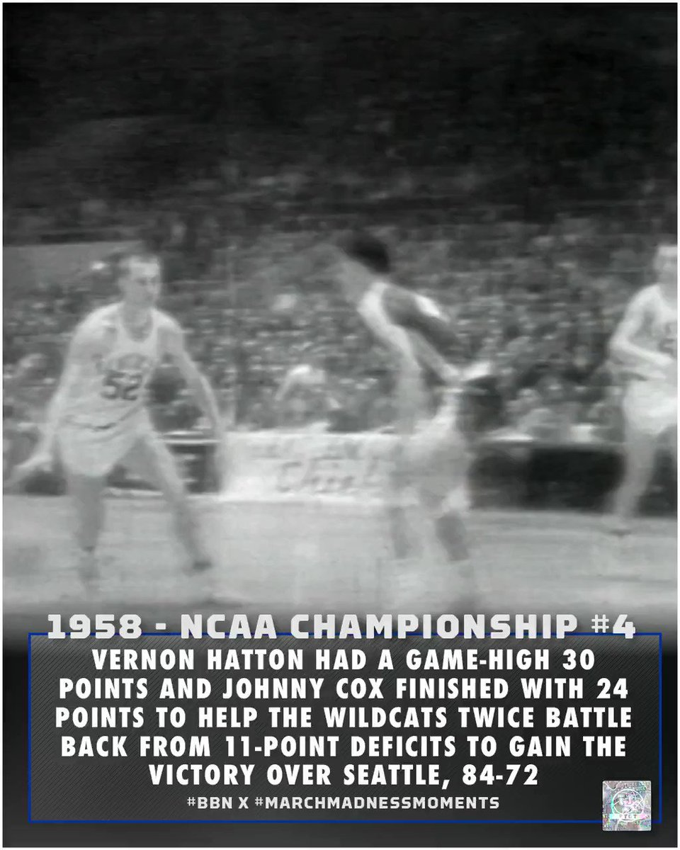 1958 🏆#4 #BBN x #marchmadnessmoments | #TGT: 𝗧he 𝗚reatest 𝗧radition.