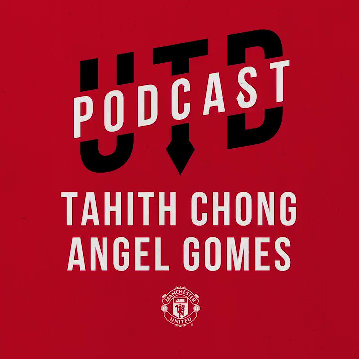 Our latest UTD Podcast has an #MUAcademy feel   Sit back, get your headphones and enjoy listening to the attacking duo talk autographs, their career ambitions and much more   #MUFC