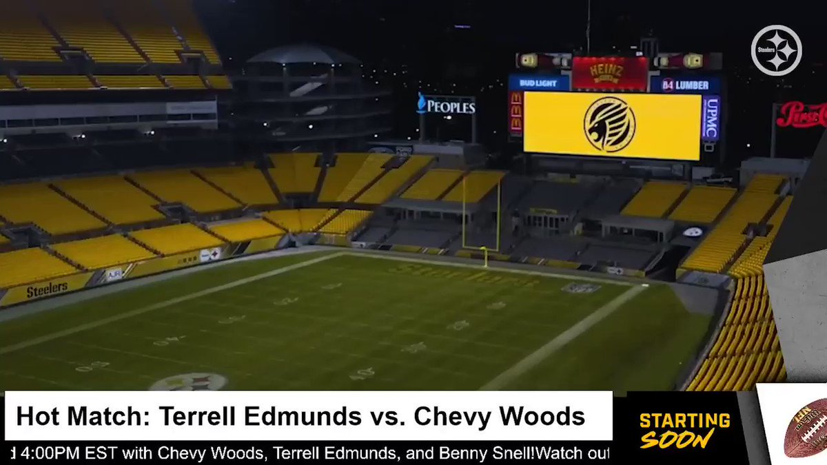 Its not every weekend you get to see Benny Snell score a TD on Benny Snell. 😂 Huge thank you to our very own @steelers players @rell_island6 and @benny_snell for joining us in the #MaddenShowdown.🖤💛 Rematch next tournament?