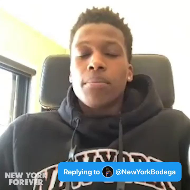 Q: Which teammates of yours has the best sense of style besides you #AskFrank - @NewYorkBodega  A: 🔊 @FrankLikina 💧 @J30_RANDLE https://t.co/lpW1so4usj