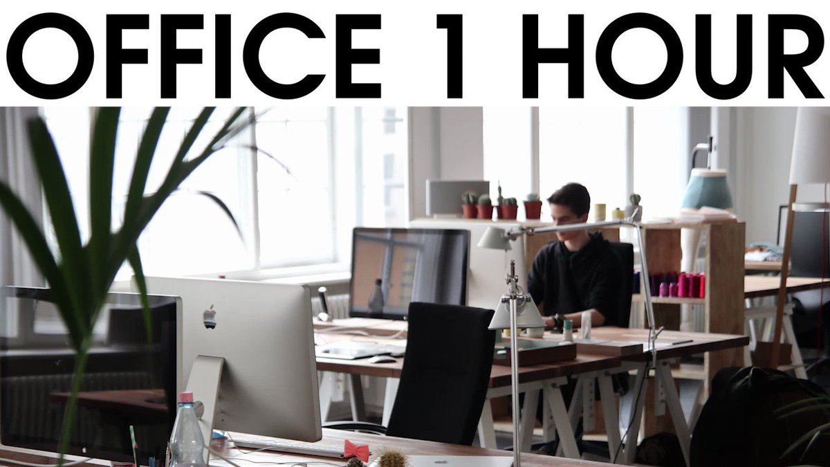 In case you're missing the sounds of the office we've got something for you to work along to →