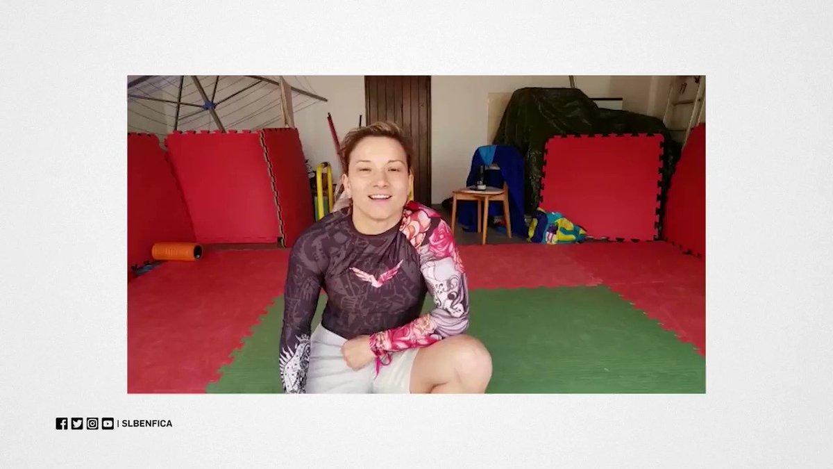 📽️ Pais com os filhos juntos em casa? A Telma Monteiro tem duas sugestões para vocês! #BenficaEmCasa