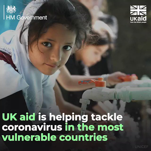 The UK is leading the way to prevent a second wave of coronavirus.   In total, 🇬🇧 has pledged £744 million to the global fight against coronavirus, particularly in developing countries where they may lack the healthcare systems to track and halt the virus. https://t.co/0pTnW3kOZ1