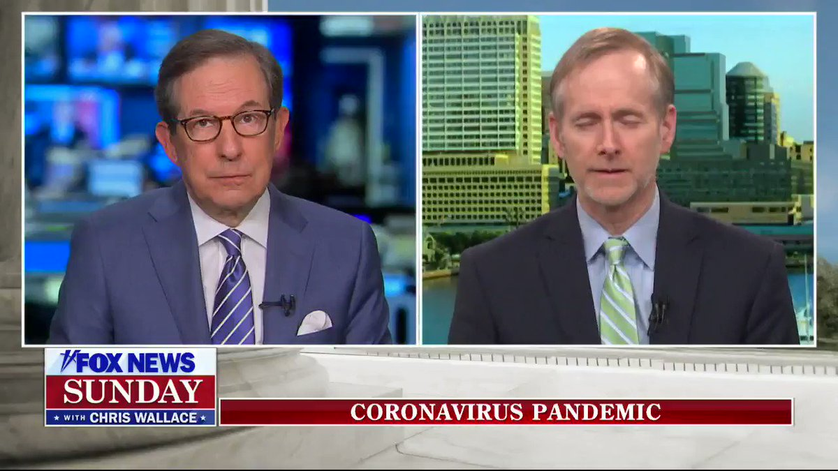 Donald Trump is flipping out because Chris Wallace just blamed him live on Fox News for screwing up the response to Covid19.  Whatever you do, don't retweet this video. It might give Trump a heart attack if this goes viral. https://t.co/K9kQGcLr6p