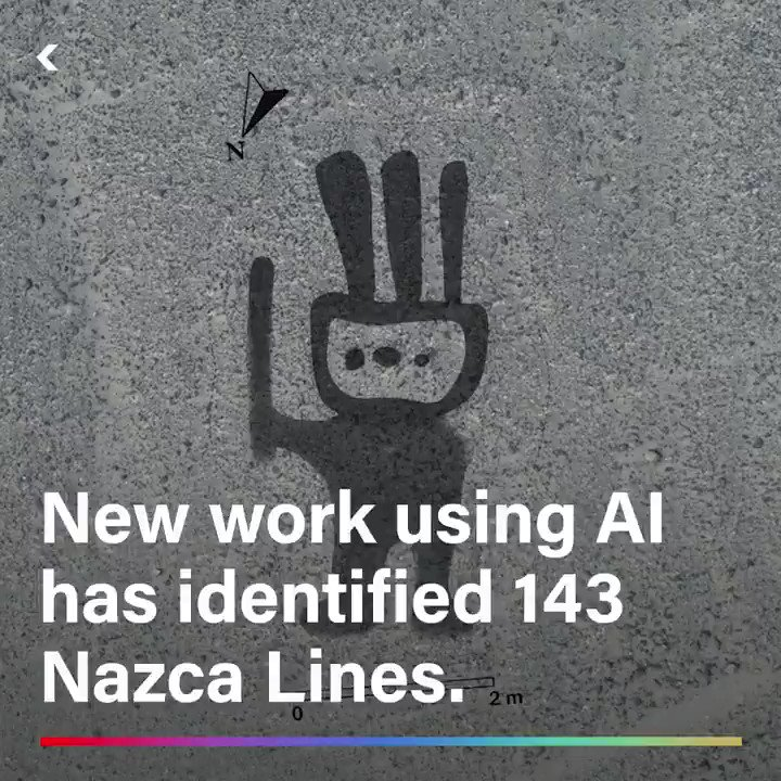 AI helped rediscover 143 ancient Nazca Lines