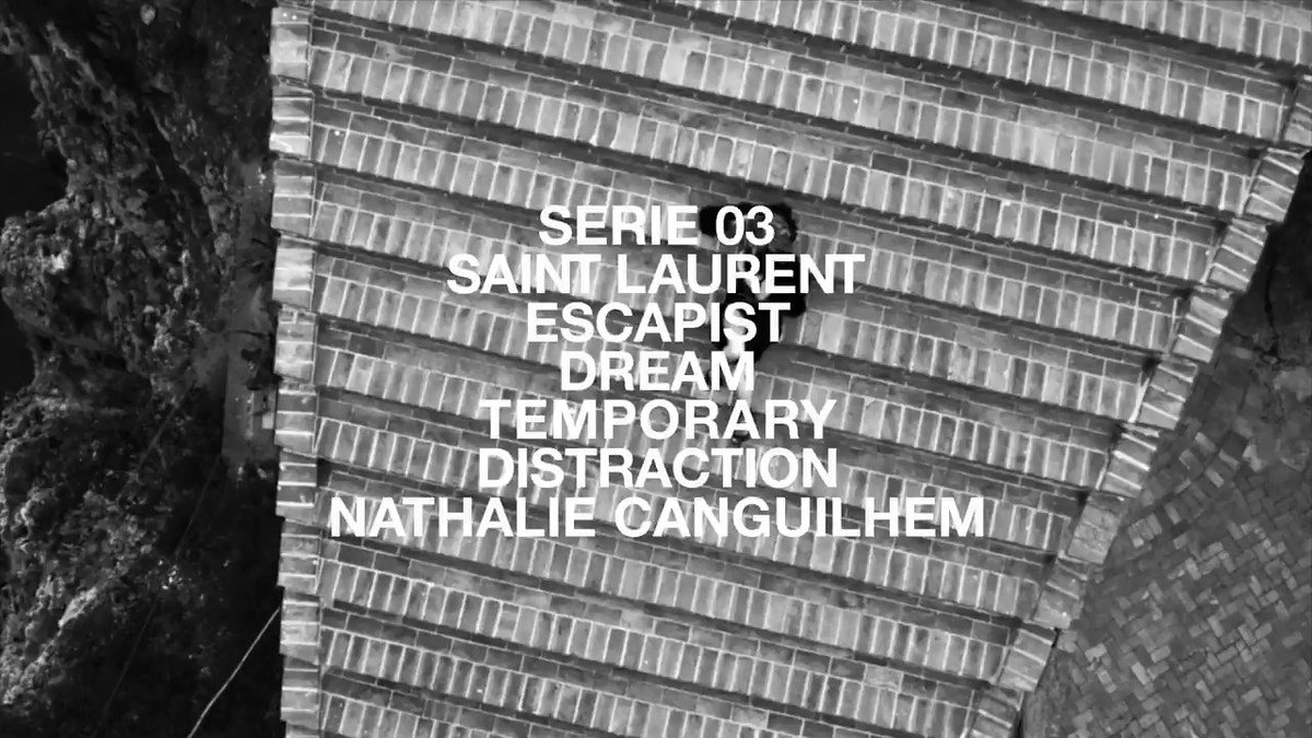 YSL SERIES 03 DIRECTED by NATHALIE CANGUILHEM CURATED by ANTHONY VACCARELLO who revisits his various artistic collaborations and selects his most emblematic images through the years.  #YSL #SaintLaurent #YvesSaintLaurentpic.twitter.com/1UTQiS2Zic