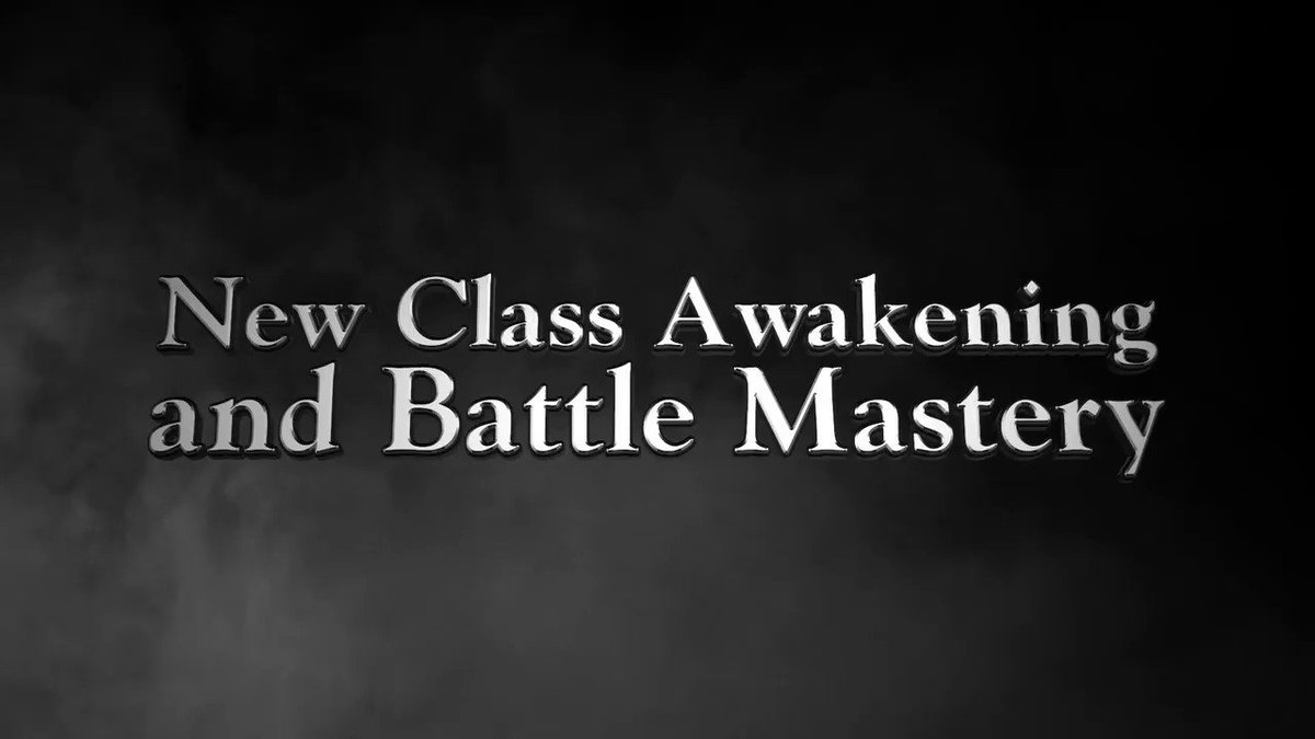 Hail Heroes,  How are you enjoying our Class Awakening and Battle Mastery contents so far?  Check out our official forums for more details: https://t.co/dhNLLrlZWF https://t.co/rOlOjNUZh7