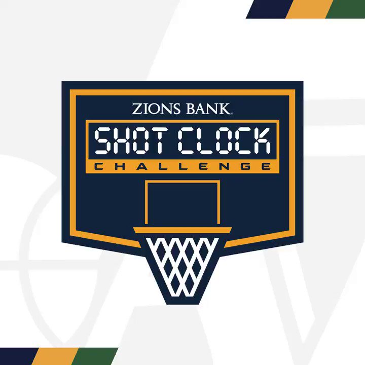 🚨 𝙽𝙴𝚆 𝙶𝙰𝙼𝙴 𝙰𝙻𝙴𝚁𝚃 🚨  Play the @ZionsBank #ShotClockChallenge right from your phone on the Utah Jazz App 📱  Download here » https://t.co/G1cbcYBXbI https://t.co/D5uSHnEl1I
